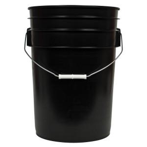 Black Bucket w/ Handle