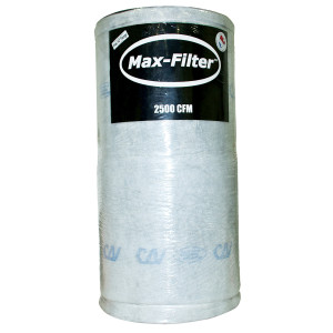 Can Max-Filter 2500 w/o Flange
