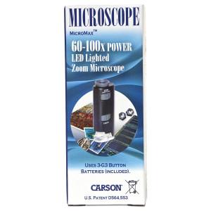 Carson MicroMax Portable Microscope w/ LED