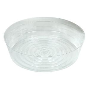 Clear Vinyl Saucer Deep