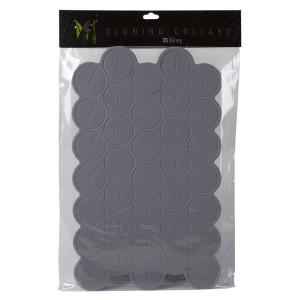 EZ-Clone Grey Cloning Collar (Bag of 35)