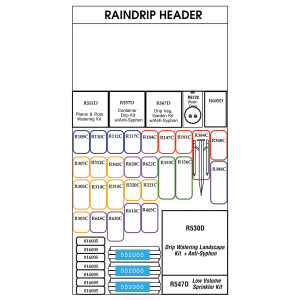 Raindrip Starter Center
