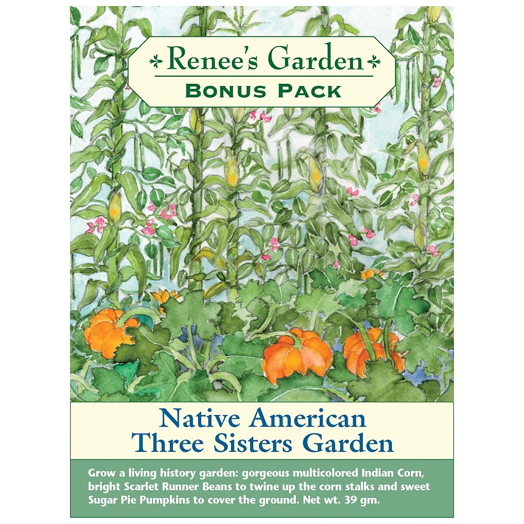 Native american three sisters garden bonus pack tj 39 s Sisters garden