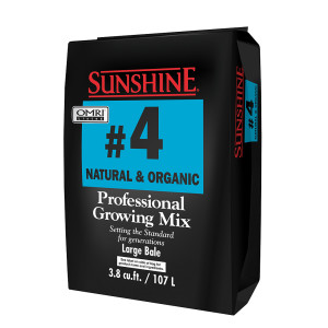 Sunshine Mix #4 Natural & Organic w/Mycorrhizae
