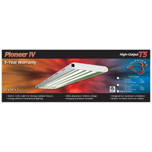 Pioneer 4' x 4 Tube T5 Fixture