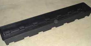Dutch Leach Tray 6x40/Black