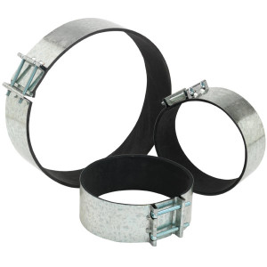 8'' Quiet Clamp (pair)