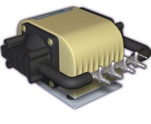 Dual Diaphragm Air Pump