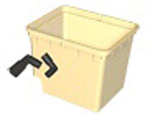 EuroGrower Pots- Beige