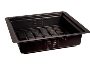 Flood Table 2x2 Black