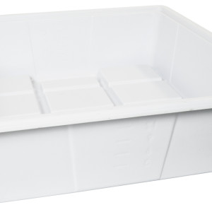 Flood Table 2x2 Premium White