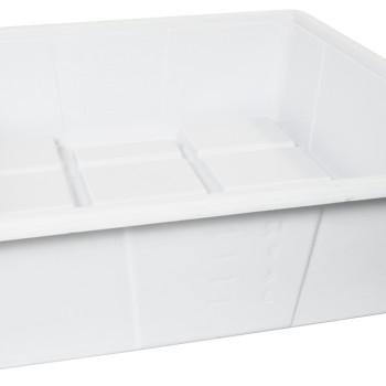 Flood Table 2x2 Premium White