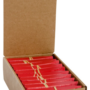 """Plant Stake Labels Red 4""""x5/8"""""""