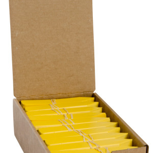 "Plant Stake Labels Yellow 4""x5"