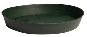 "Green Premium Saucer 6"""