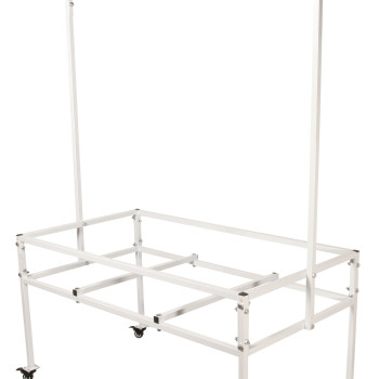 2x4 Tray Stand w/Hanging Bar