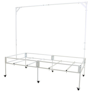 8x4 Tray Stand w/Hanging Bar