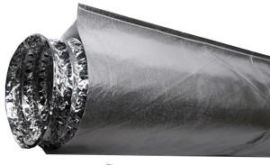 "Heat Shield Duct 6""x10'"