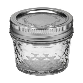 Ball Jar 4oz Quilted Crystal