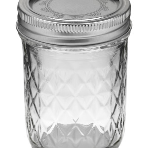Ball Jar 8oz Quilted Crystal