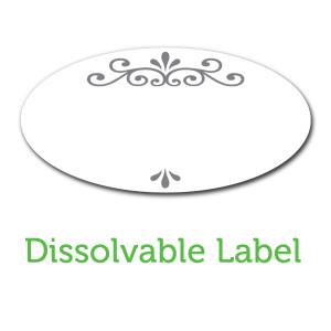 Ball Jar Dissolvable Labels