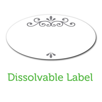 Ball Jar Dissolvable Labels
