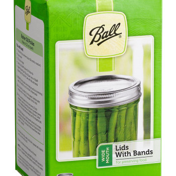 Ball Jar Wide Mouth Lids /Band
