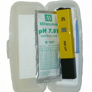 PH Tester w/1 Point Manual Cal