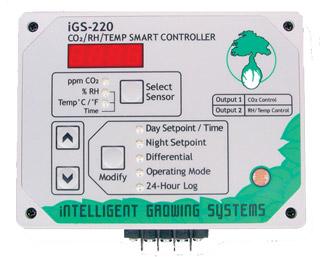 CO2/RH/Temperature Smart Contr