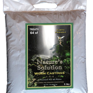 Organic Worm Castings 5Lb Bags