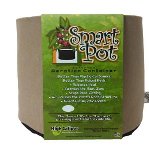 "25 Gal Smart Pot 21x15.5"" TAN"