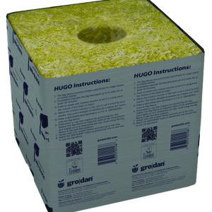 Hugo Blk 6x6x5.8 w/hole 40/40