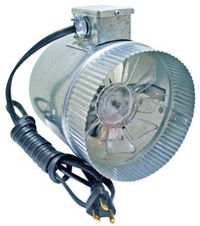 """8"""" Duct Fan 210 CFM"""