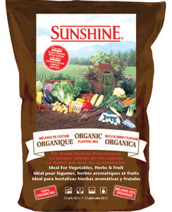 Sunshine Organic Mix 2.5CF