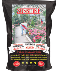 Sunshine Pro Growing Mix 2.5 c