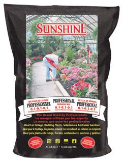 Sunshine Pro Growing Mix 2.5 c