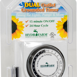 Dual Timer 15 Amp 1725w GR