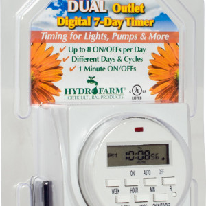 Dual Digital Timer 7 Day GR
