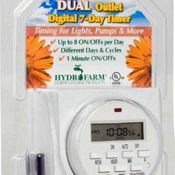Dual Digital Timer 7 Day GR
