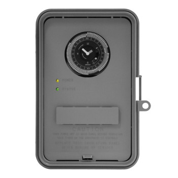 24-Hour Plastic Outdoor Timer