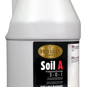 Gold Label Nutrients Soil A 4L