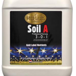 Gold Label Nutrients Soil A 10