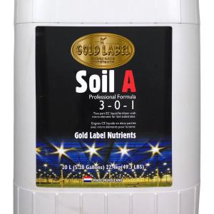 Gold Label Nutrients Soil A 20
