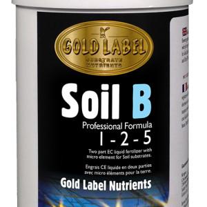 Gold Label Nutrients Soil B 1L