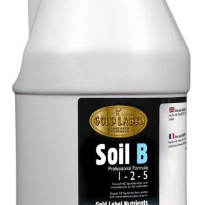 Gold Label Nutrients Soil B 4L
