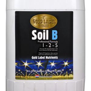 Gold Label Nutrients Soil B 20